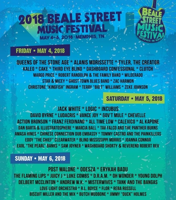 Beale Street Music Festival Info