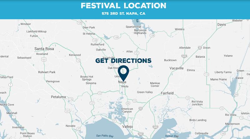 BottleRock Napa Festival Location