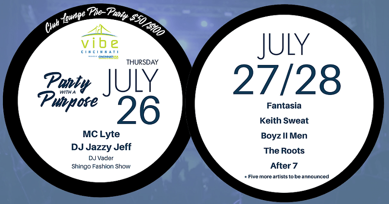 Cincinnati Music Festival Lineup