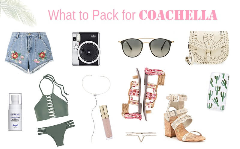 Coachella What To Pack