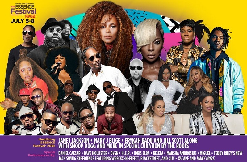 Essence Music Festival Performers