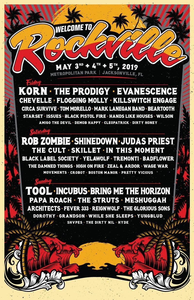 Welcome To Rockville 2019 Lineup