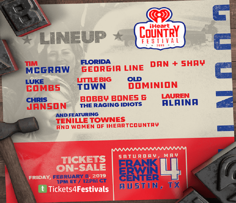 iHeartCountry Music Festival 2019 Lineup