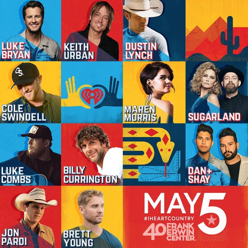 iHeartCountry Music Festival Lineup