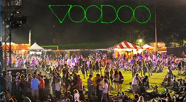 Voodoo Music & Arts Experience Tickets