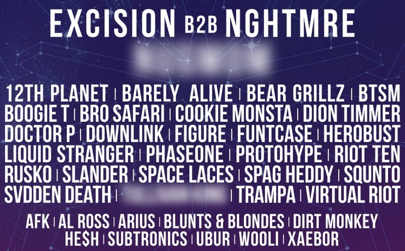Bass Canyon Festival Lineup