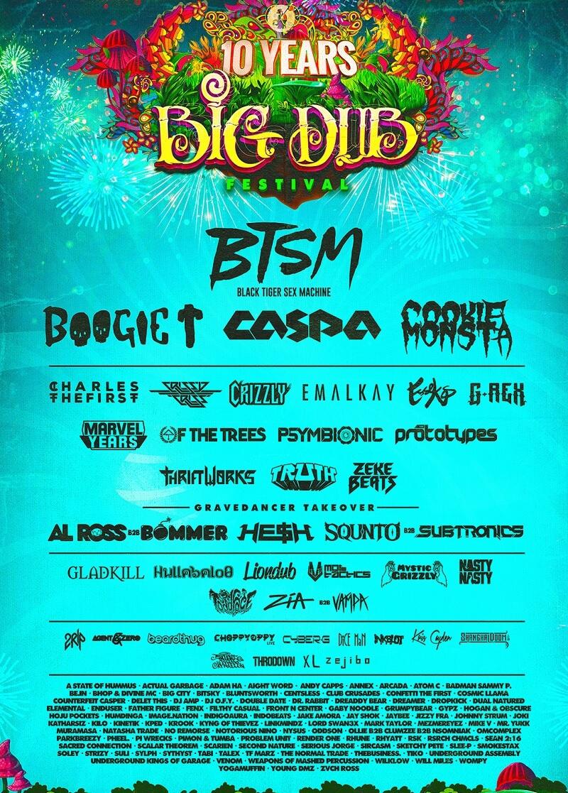 Big Dub Festival 2020 lineup