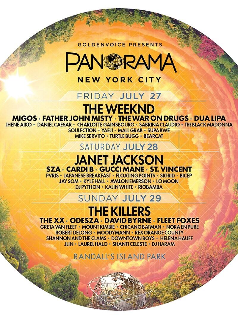 Panorama Festival 2018 Lineup