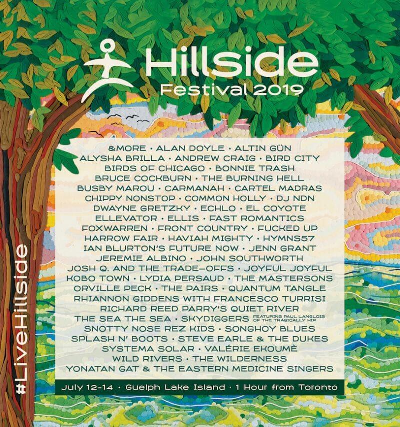 Hillside Festival 2019 Lineup