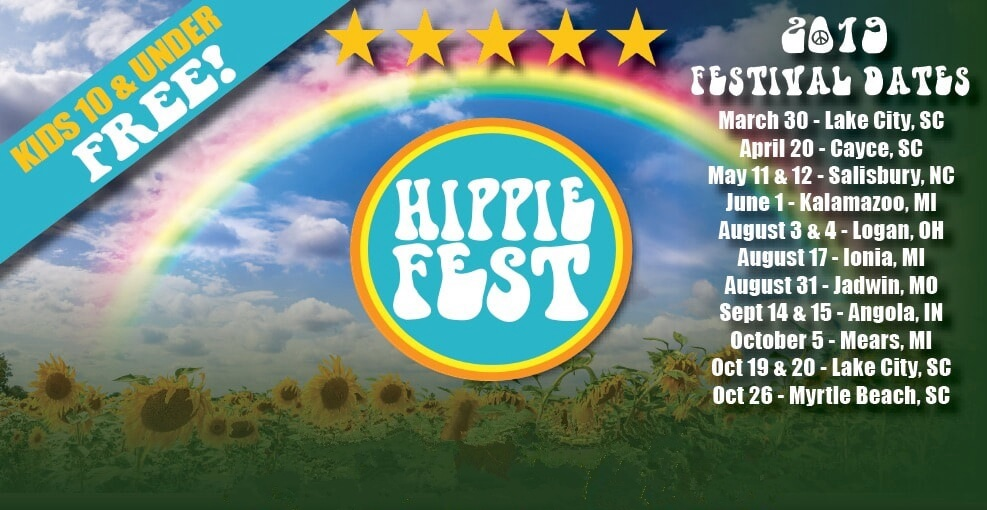Hippiefest festival dates
