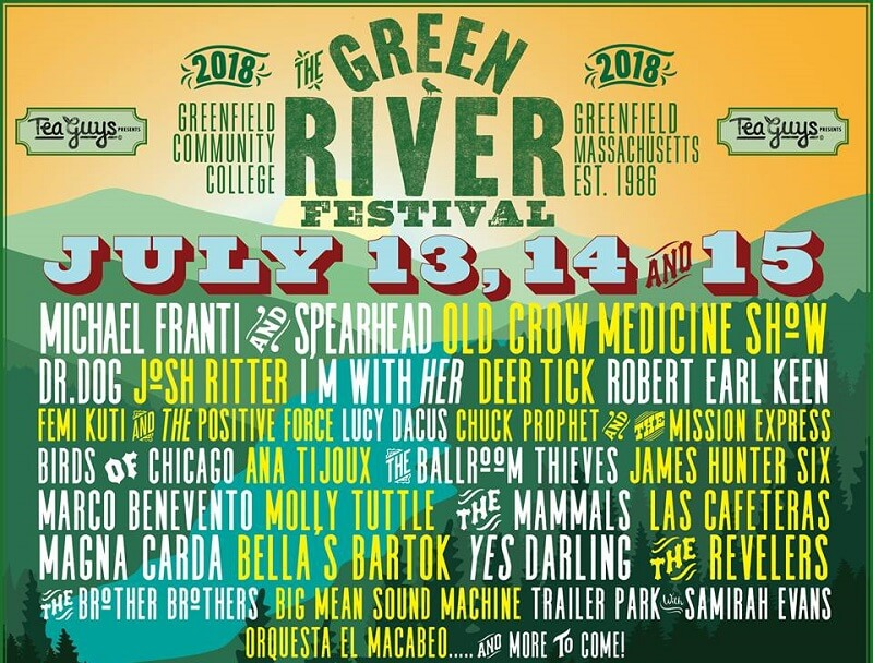 The Green River Festival 2018 Lineup