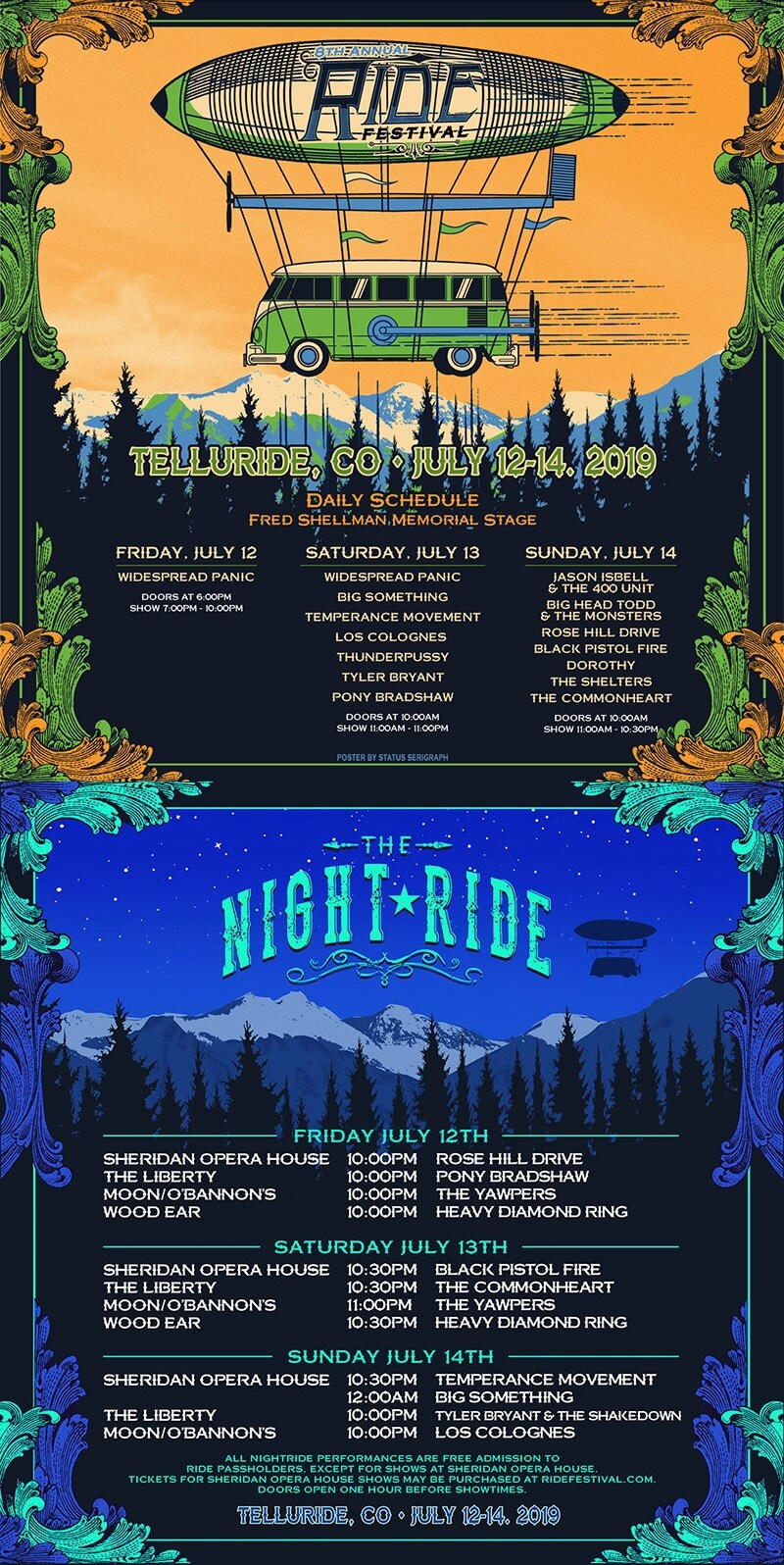 The Ride Festival 2019 Lineup