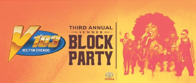 V103 Summer Block Party