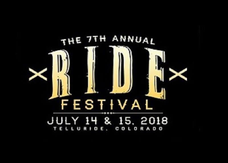 the ride festival 2018