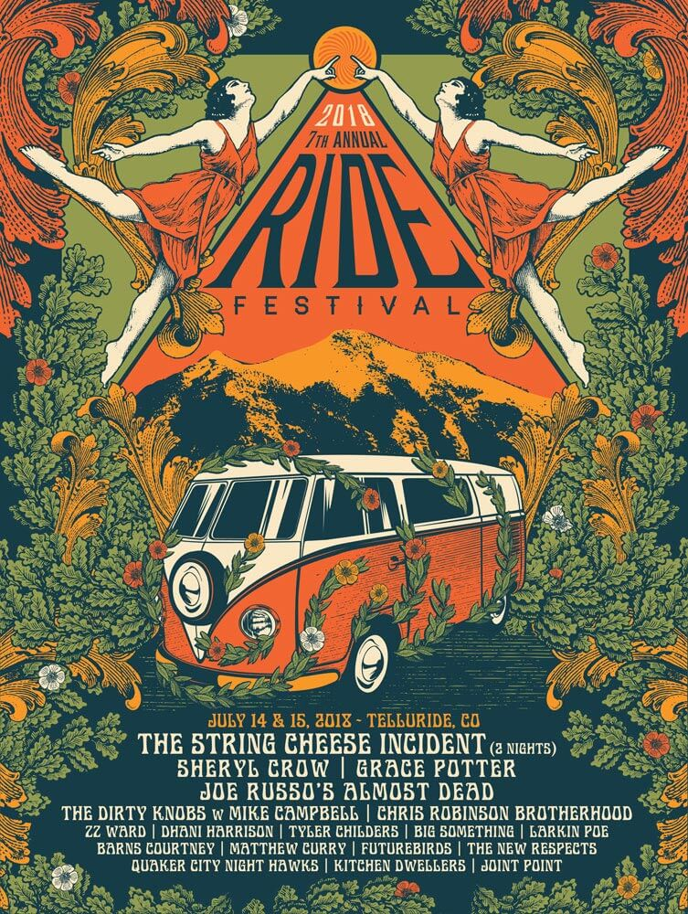 the ride festival lineup 2018