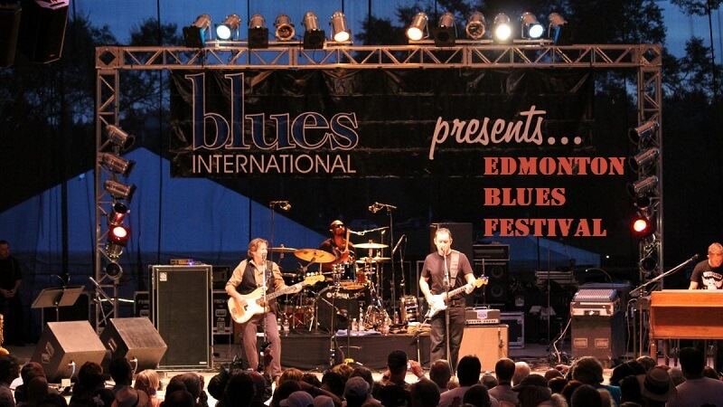 Edmonton Blues Festival Tickets Cheap
