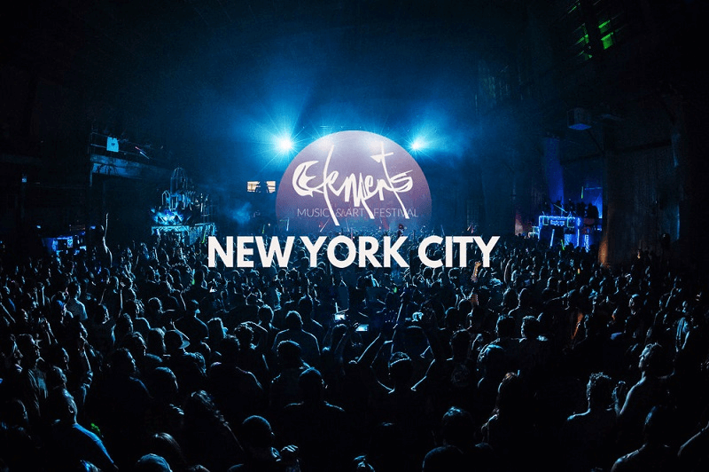Elements NYC Music & Art Festival Tickets