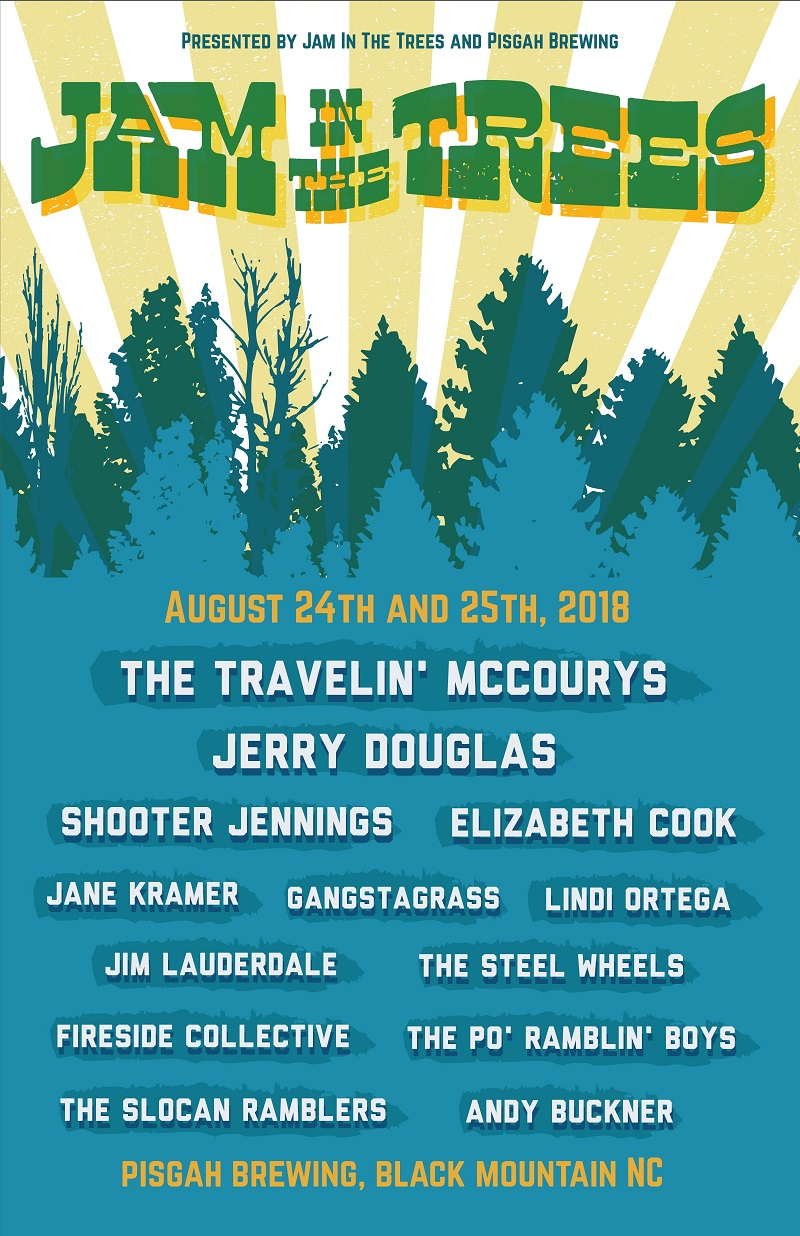 Jam In The Trees 2018 Lineup