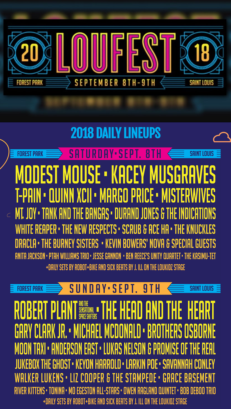 Loufest 2018 Lineup