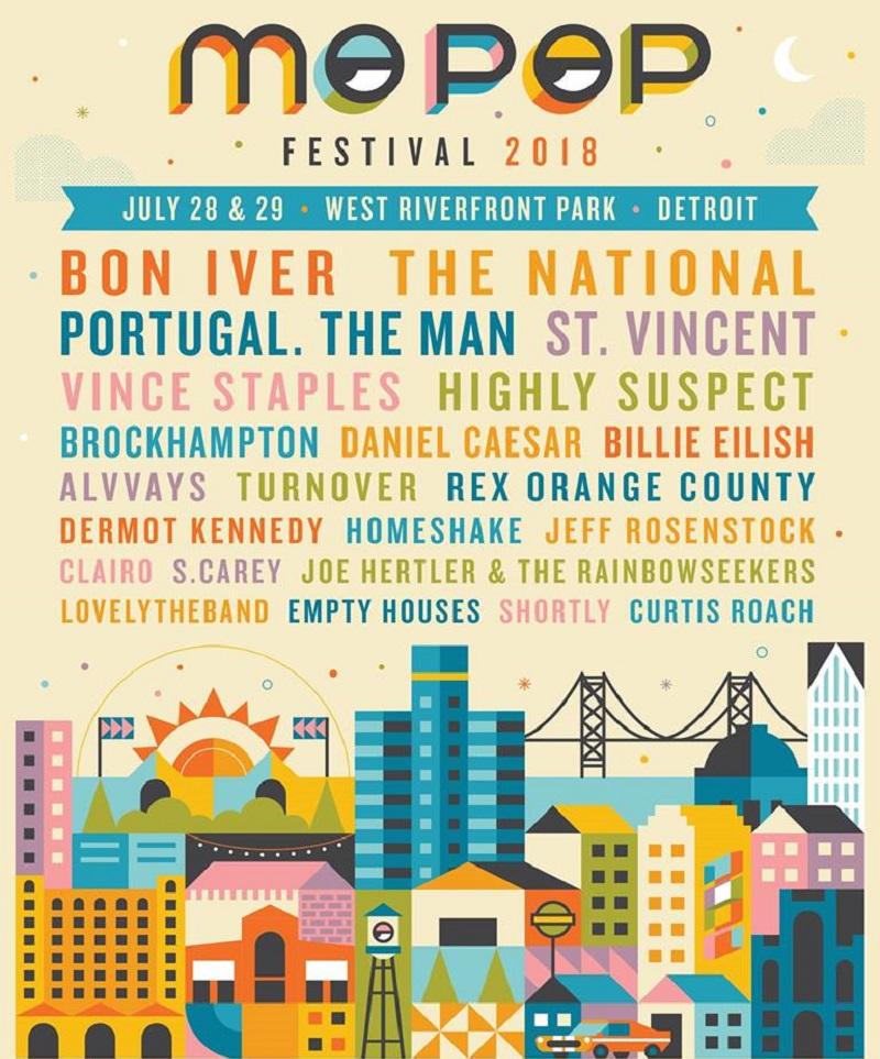 Mo Pop Festival 2018 Lineup