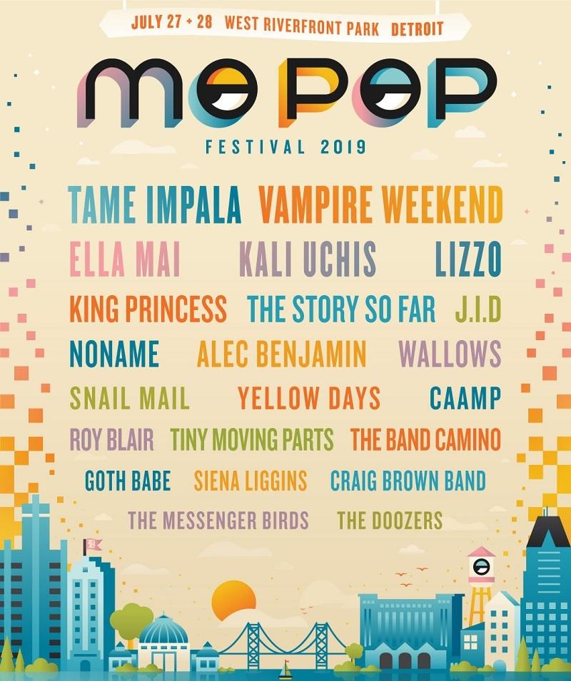 Mo Pop Festival Lineup 2019
