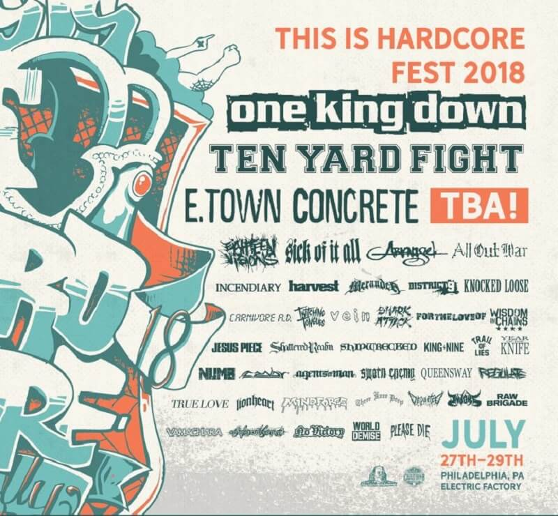 This Is Hardcore Fest 2018 Lineup