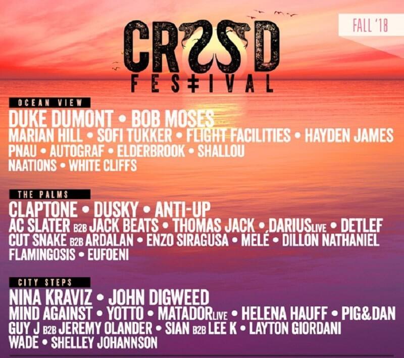 CRSSD Festival 2018 Lineup