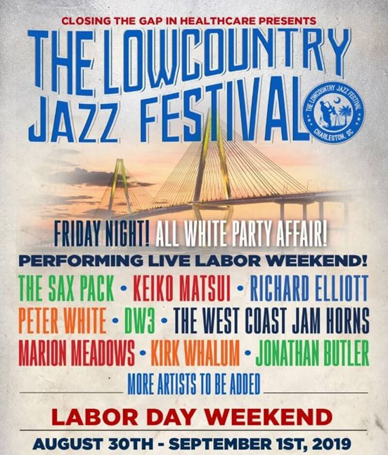 Lowcountry Jazz Festival 2020 Lineup