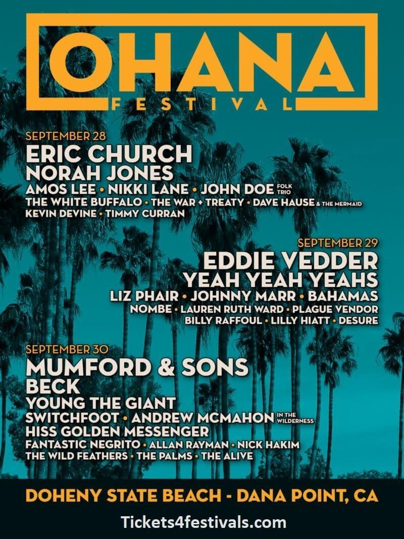 Ohana Music Festival Lineup