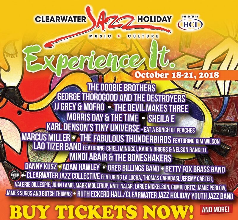 Clearwater Jazz Holiday Lineup