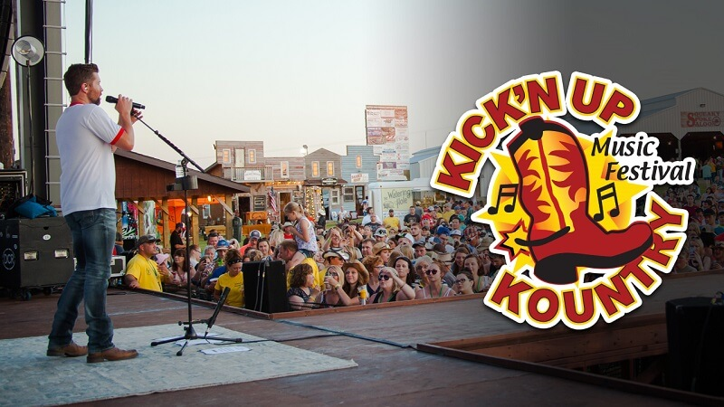 Kick'n Up Kountry Music Festival Tickets