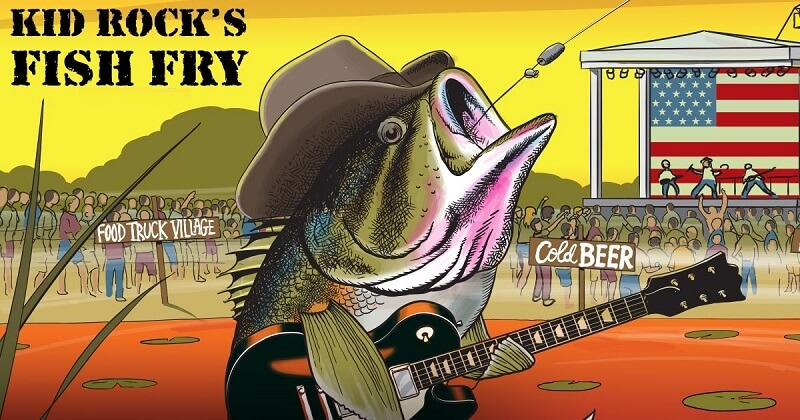 Kid Rock Fish Fry Tickets