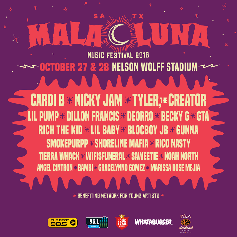 Mala Luna Music Festival Lineup