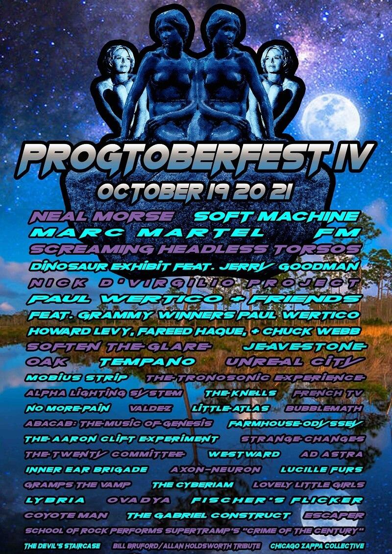 Progtoberfest Lineup