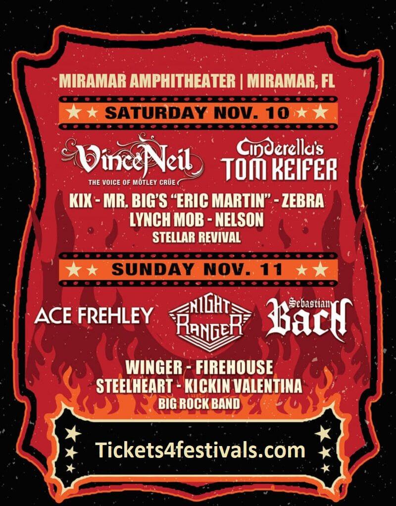 Rockfest 80's Music Festival Lineup