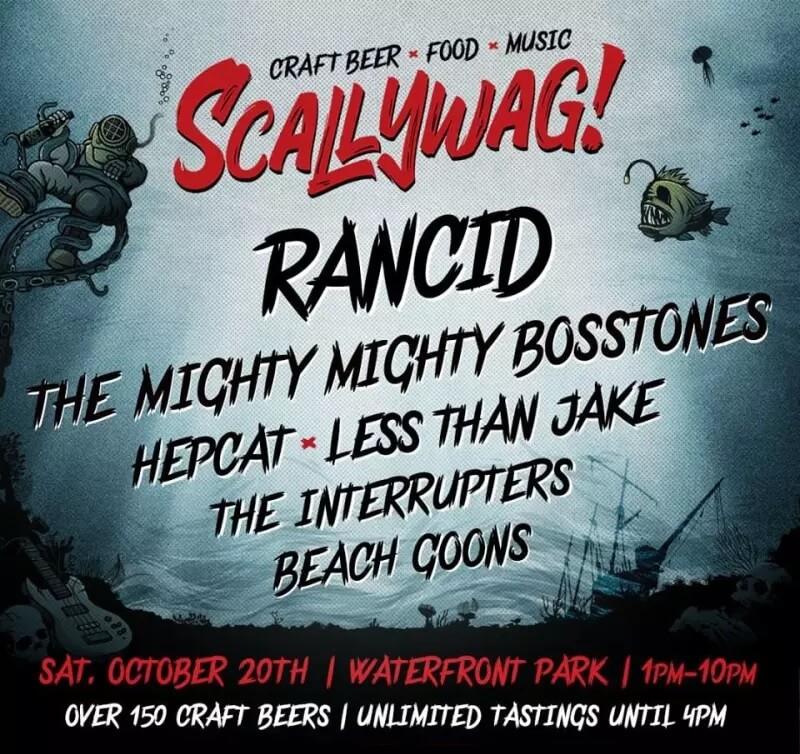 Scallywag Festival Lineup