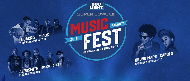 Bud Light Super Bowl Music Fest 2019 Lineup