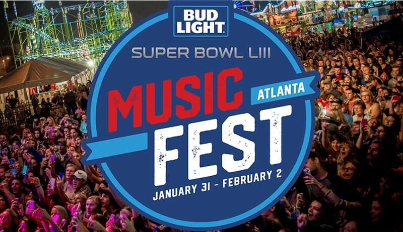 Cheap Bud Light Super Bowl Music Fest Tickets