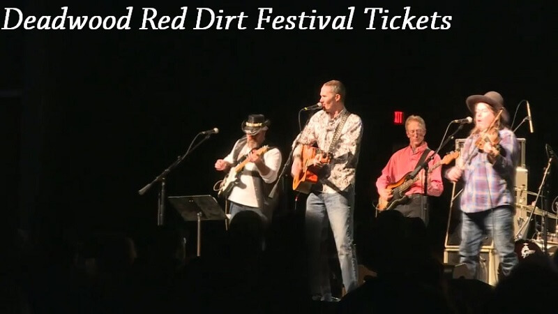 Deadwood Red Dirt Festival Tickets