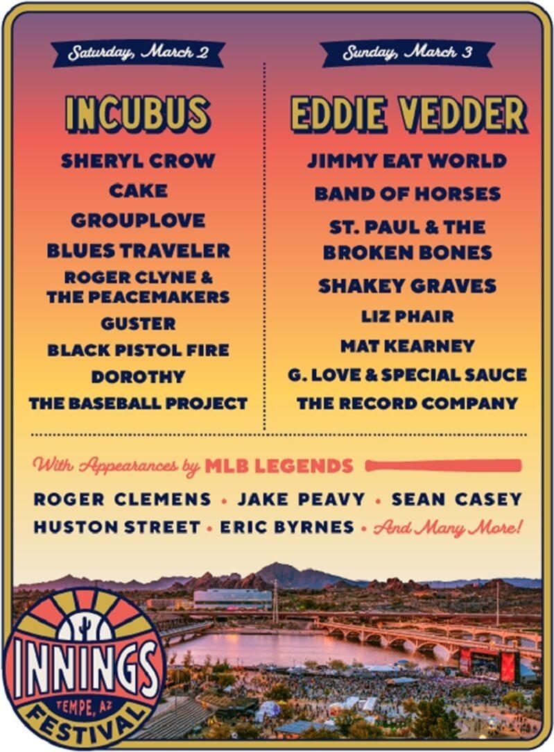 Innings Festival 2019 Lineup
