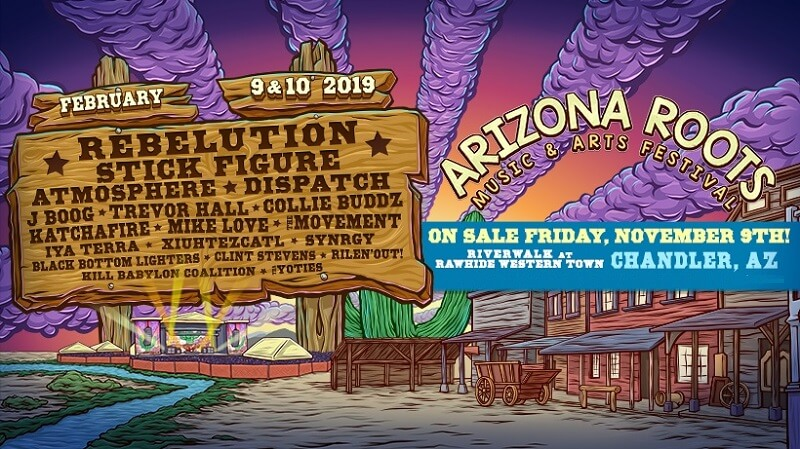 Arizona Roots Music & Arts Festival 2019 Lineup