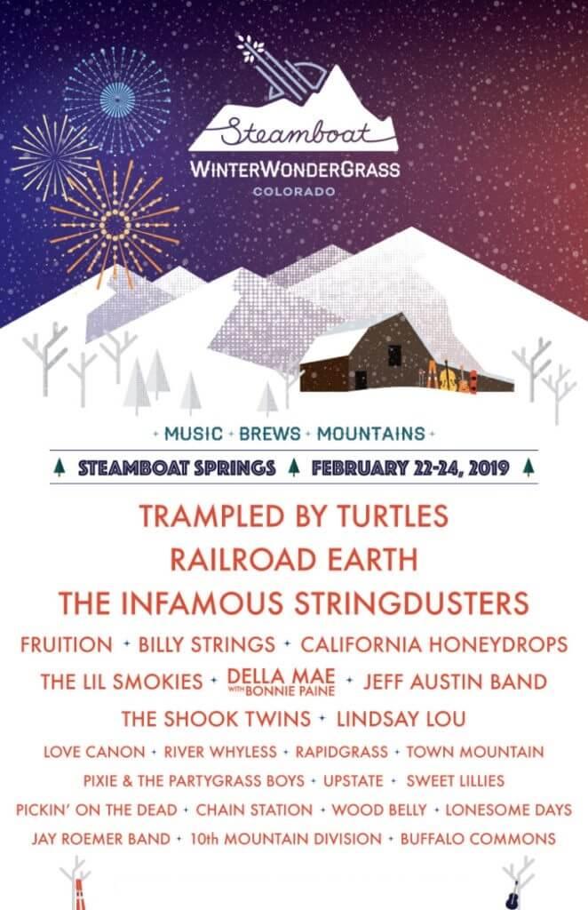 WinterWonderGrass Festival 2019 Lineup