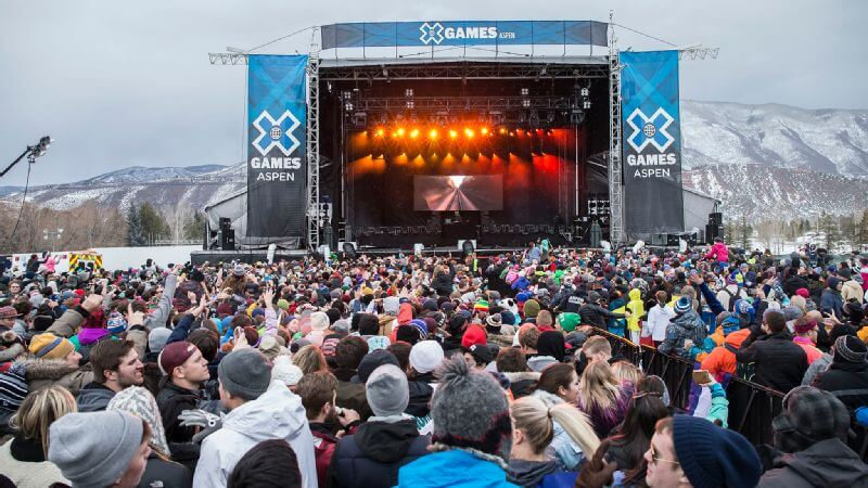 X-Games Musical Performances Tickets