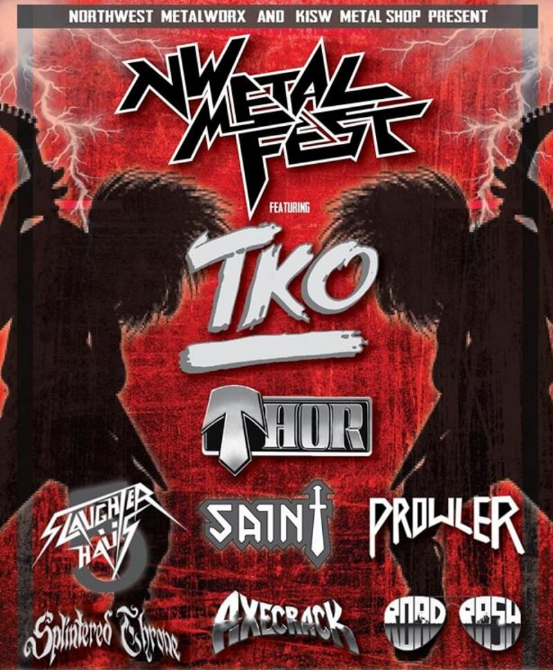 NW Metal Fest Lineup 2019