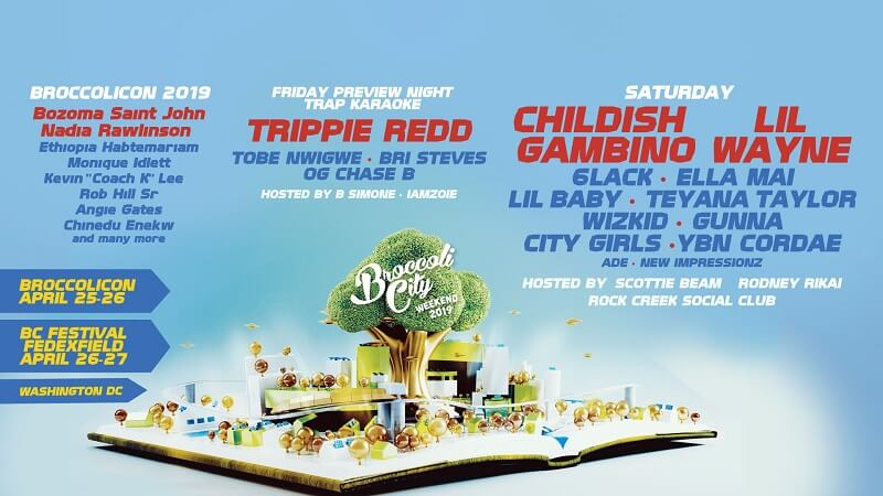 Broccoli City Festival 2019 Lineup