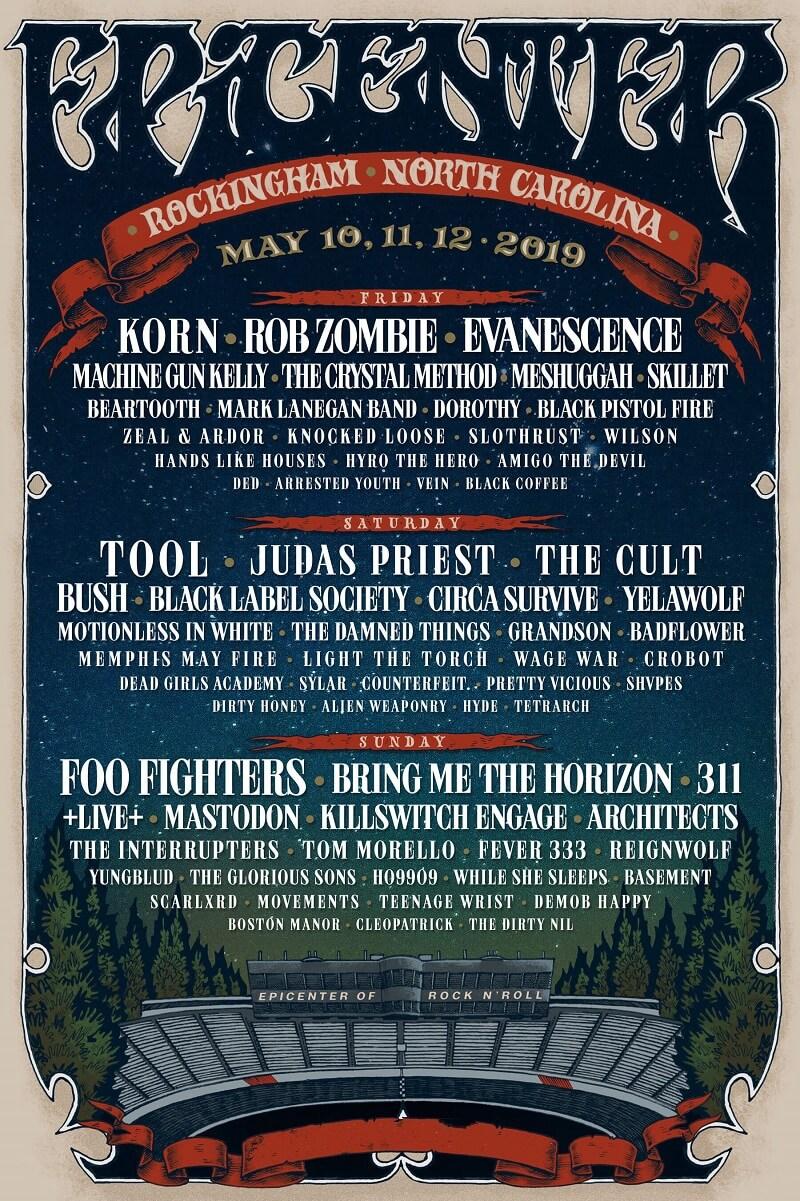 Epicenter Festival Lineup 2019