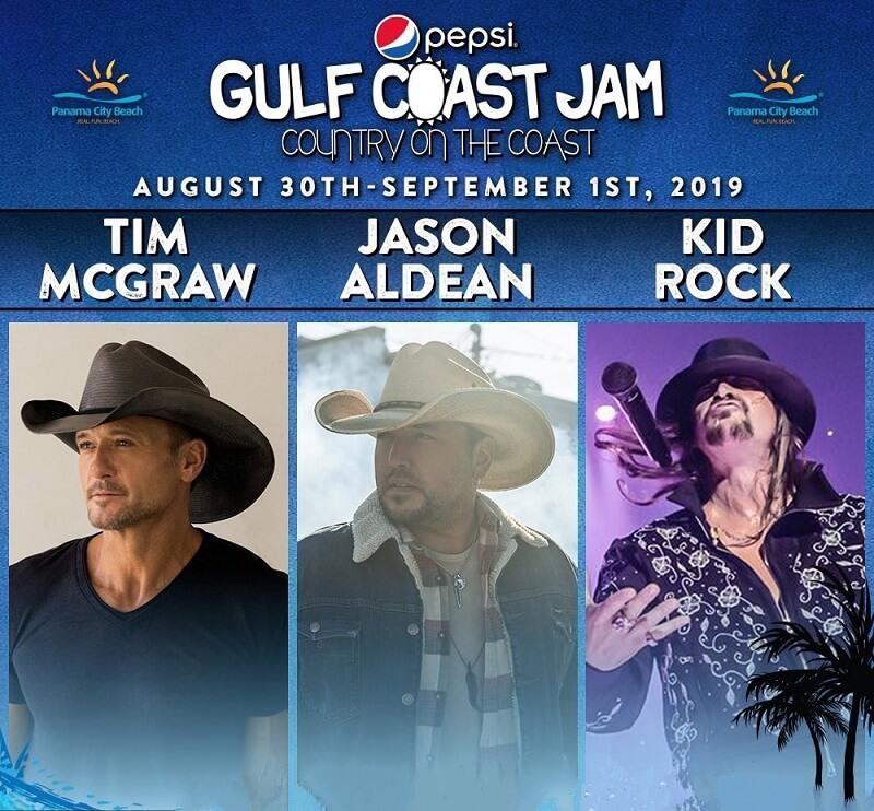 Gulf Coast Jam 2020 Lineup