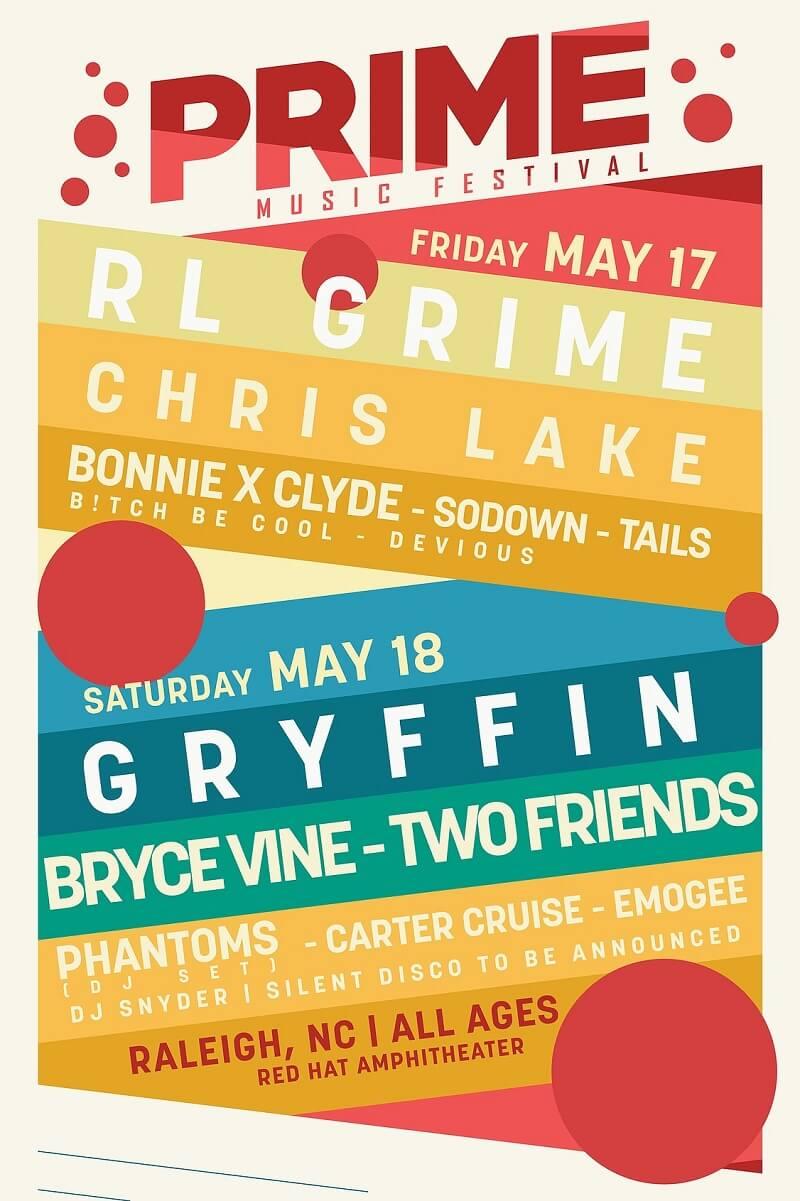 PRIME Music Festival 2019 Lineup