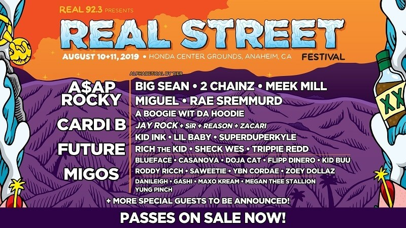 Real Street Festival 2020 Lineup