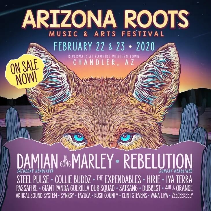 Arizona Roots Music & Arts Festival Lineup